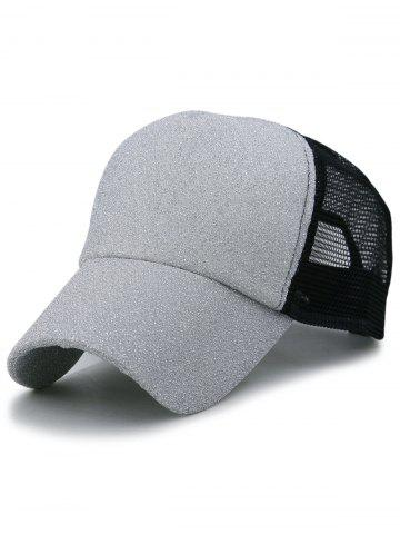 Buy Outdoor Shimmer Glitter Mesh Baseball Hat