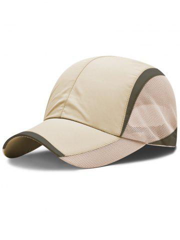 Latest Lightweight Solid Color Breathable Mesh Sunscreen Hat