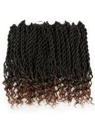 20 Roots Long Crochet Braids Faux Locs Curly Hair Extension -