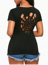 Spider Web Back T-shirt -
