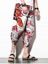 Loose Print Nine Minutes of Jogger Pants -