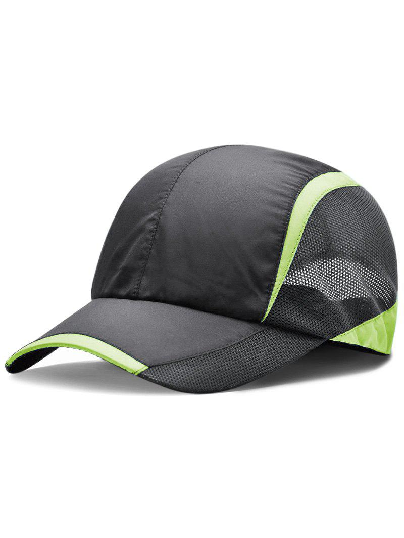 Chic Lightweight Solid Color Breathable Mesh Sunscreen Hat