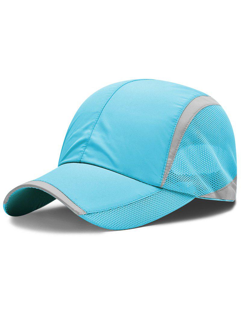 Online Lightweight Solid Color Breathable Mesh Sunscreen Hat