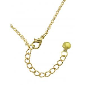 Faux Pearl Alloy Belly Chain -