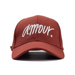 Outdoor Amour Embroidery Sun Hat -