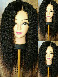 Long Side Parting Curly Synthetic Wig -