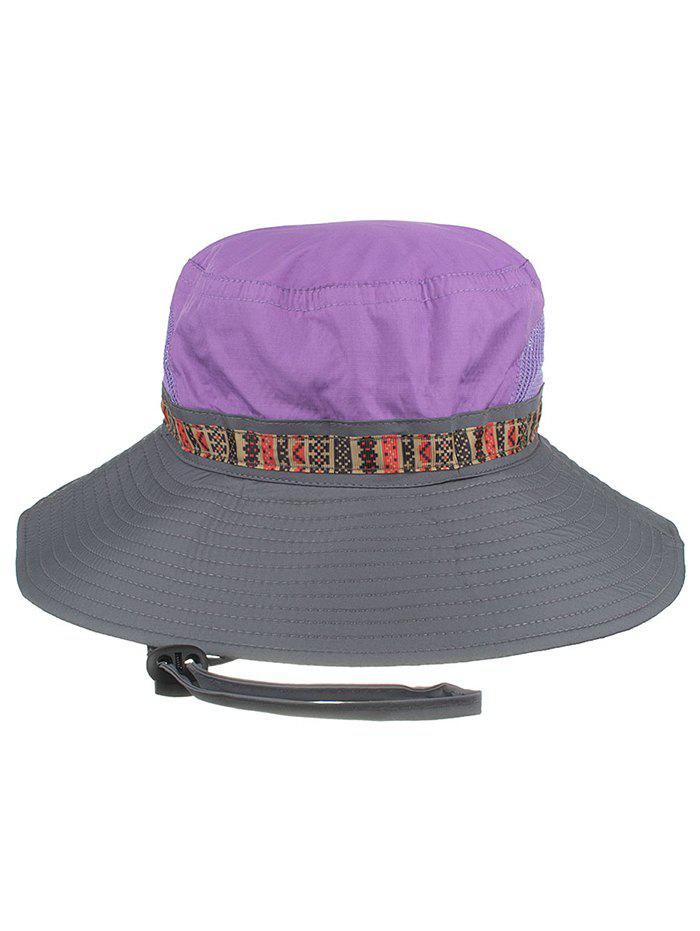 Outfit UV Protection Wide Brim Mesh Sun Hat