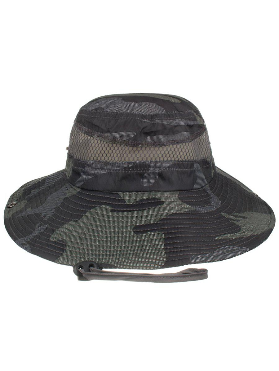 Discount Camouflage Pattern Mesh Breathable Fisherman Hat