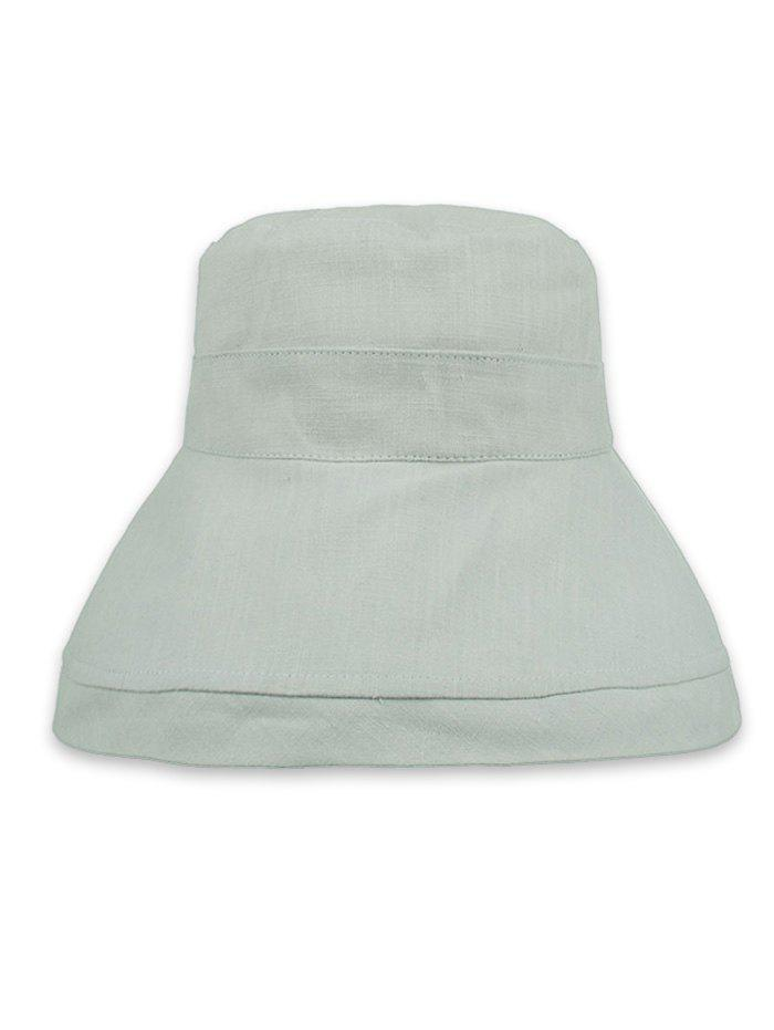 Buy Lightweight Solid Color Foldable Bucket Sun Hat