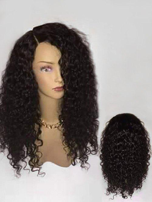 Outfits Long Side Parting Fluffy Curly Synthetic Wig