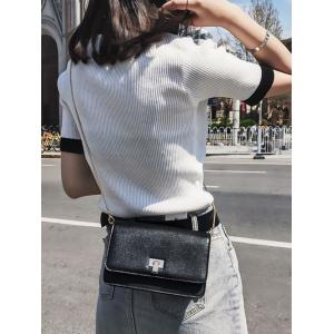 Chain Minimalist Flap Crossbody Bag -