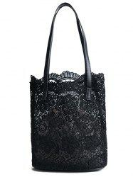 Lace Casual 2 Pieces Shoulder Bag Set -