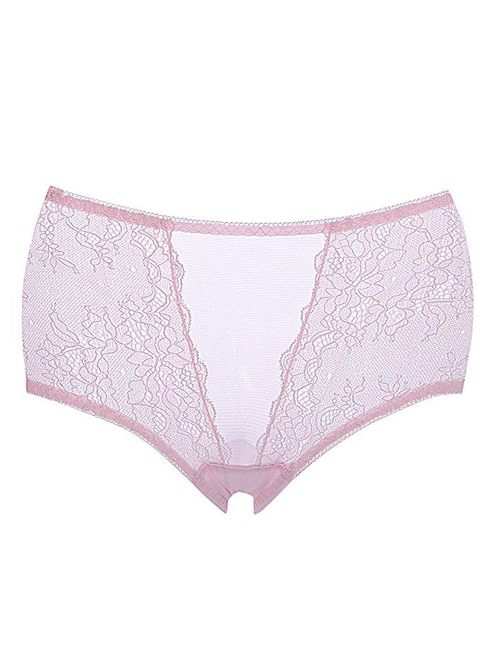 Outfit Breathable Lace Mid Rise Pantie