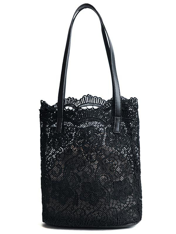 Outfit Lace Casual 2 Pieces Shoulder Bag Set