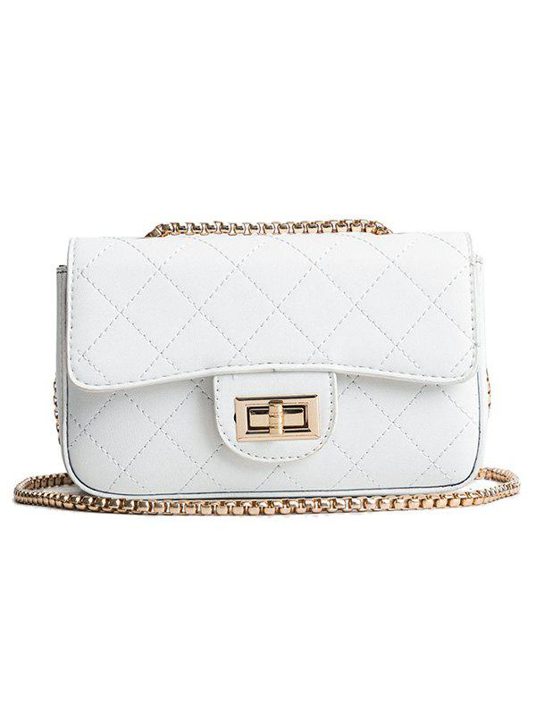 Online Chain Quilted Retro Crossbody Bag