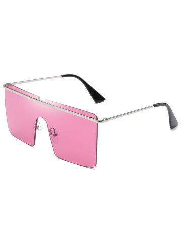 New Anti Fatigue Crossbar One Piece Oversized Sunglasses