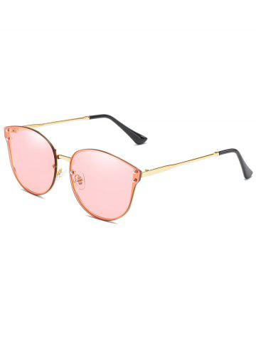 Cheap Metal Frame Flat Lens Sun Shades Sunglasses