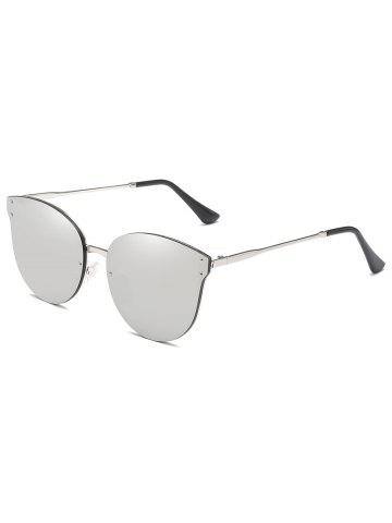 Outfit Metal Frame Flat Lens Sun Shades Sunglasses