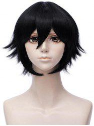 Short Inclined Bang Straight Anime Aotu World Camil Cosplay Synthetic Wig -