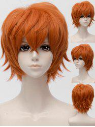 Short Inclined Bang Straight Mystic Messenger Cosplay Synthetic Wig -