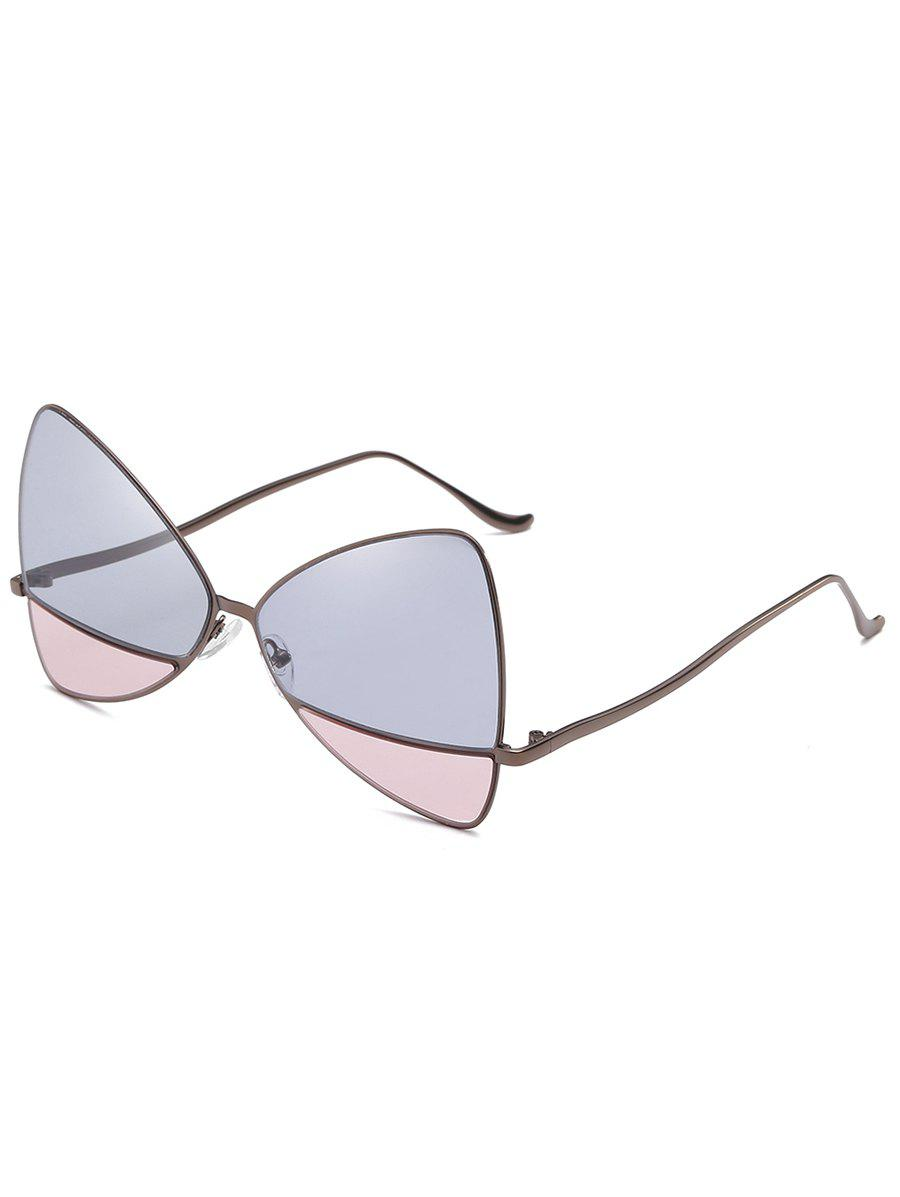 Buy Anti Fatigue Metal Frame Two Tone Catty Sunglasses