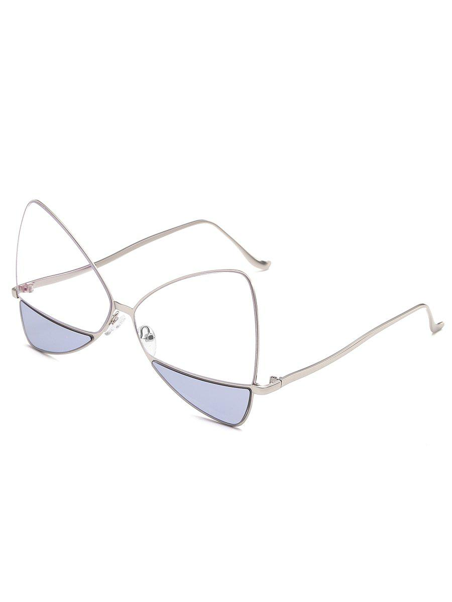 Outfits Anti Fatigue Metal Frame Two Tone Catty Sunglasses