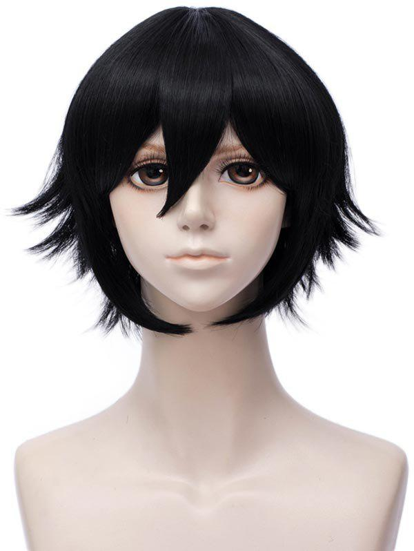 Online Short Inclined Bang Straight Anime Aotu World Camil Cosplay Synthetic Wig