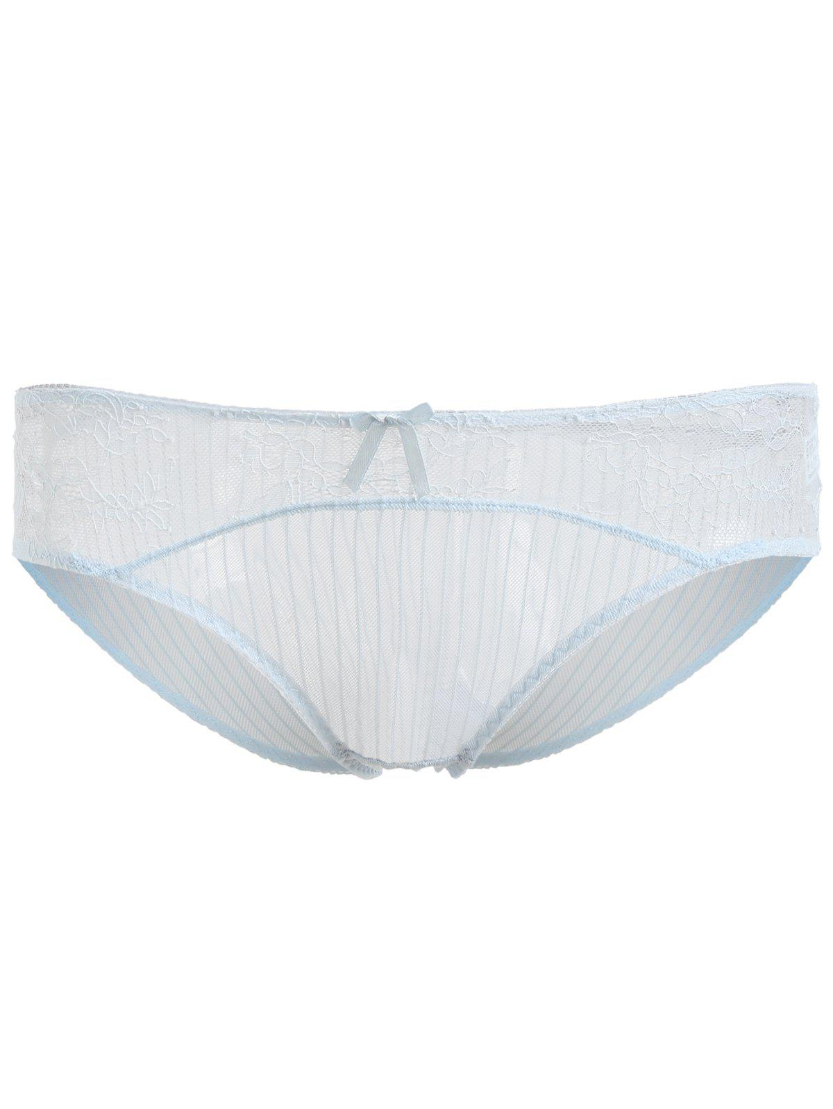 Shop Transparent Lace Soft Breathable Underwear