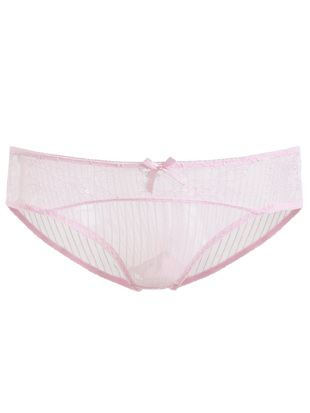 Fashion Transparent Lace Soft Breathable Underwear