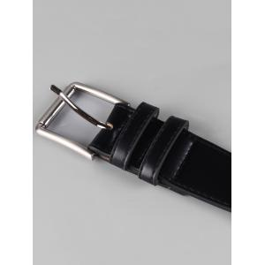 Adjustable Metal Buckle Faux Leather Wide Waist Belt -