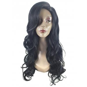 Long Side Parting Wavy Party Synthetic Wig -