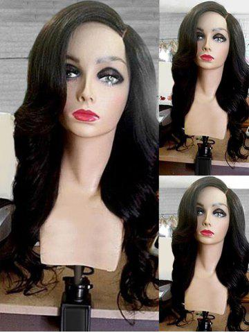 Best Long Side Parting Wavy Synthetic Wig
