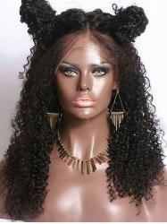 Long Middle Part Curly Synthetic Lace Front Wig -