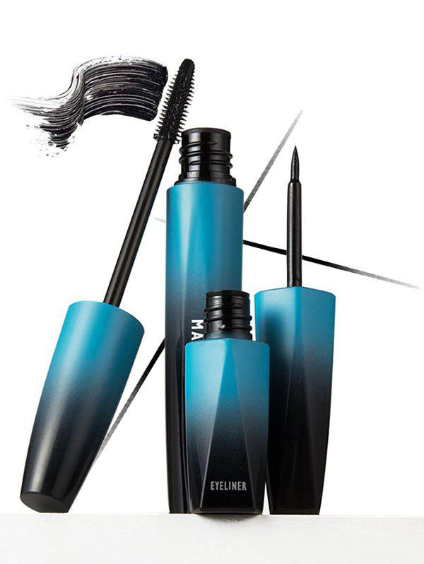 Hot Set of Long Lasting Waterproof Quick Dry Liquid Eyeliner and Mascara