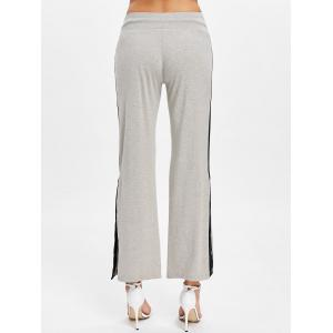 Button Side Casual Ninth Pants -