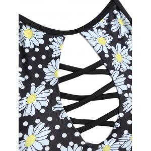 Low Waisted Floral Tankini -