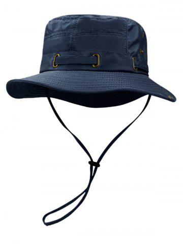 Sale Outdoor Line Embroidery Breathable Bucket Hat