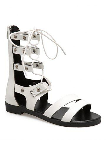 Best Lace Up Cross Gladiator Sandals