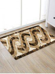 Uhommi Glazed Tile Patterned Skidproof Floor Mat -