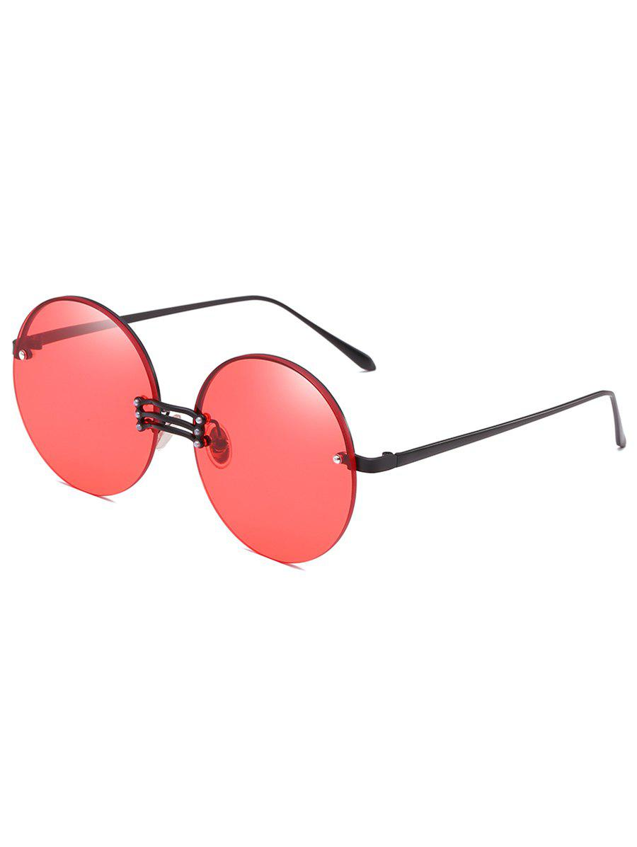 New Vintage Rimless Circle Sun Shades Sunglasses