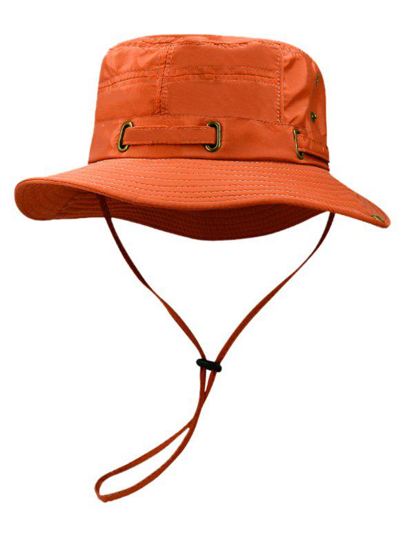 Cheap Outdoor Line Embroidery Breathable Bucket Hat