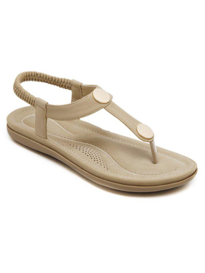 Shops Slip On Elastic Band Outdoor Sandals