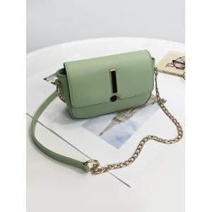 Flap Chic Minimalist Crossbody Bag -