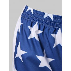 American Flag Running Shorts -