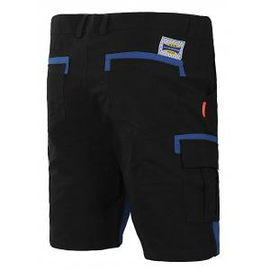 Panel Two Tone Flap Pocket Casual Shorts -