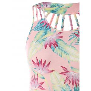 Strappy Plus Size Print Sundress -
