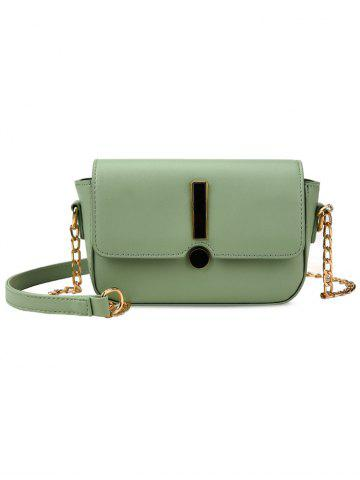 Cheap Flap Chic Minimalist Crossbody Bag