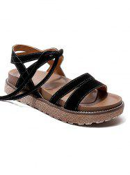 Vacation Leisure Lace Up Sandals -