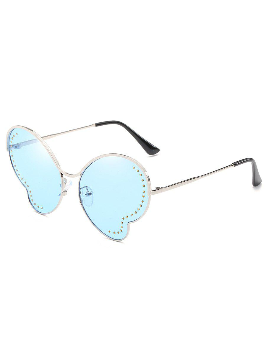 Affordable Anti Fatigue Metal Beads Butterfly Sunglasses