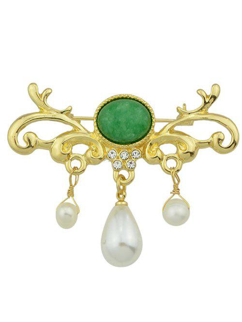 Outfits Imitation Pearl Alloy Brooch Jewelry